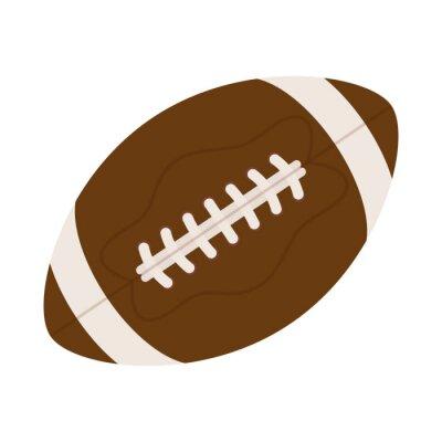 american football balloon equipment icon