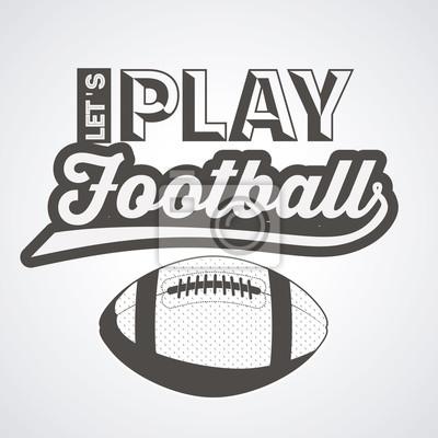american football design  vector illustration