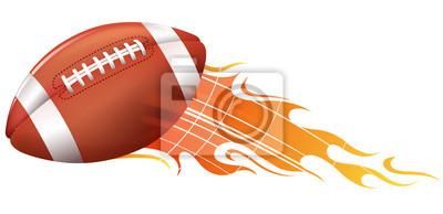 american football Feuer