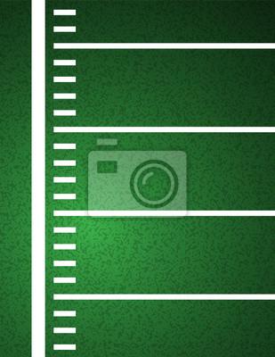 American Football Field Hintergrund Illustration