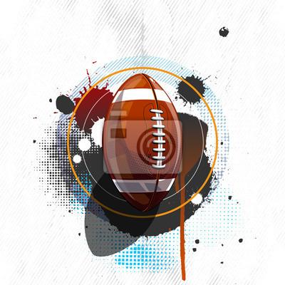 American-Football-Grunge-Hintergrund