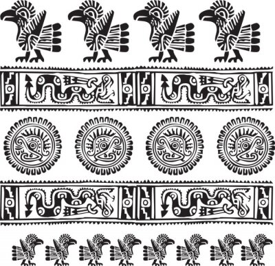 Amerikanischen Kultur-Symbol . Editable Vektor-Illustration