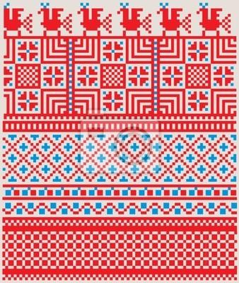 Amerikanischen Textil-Muster