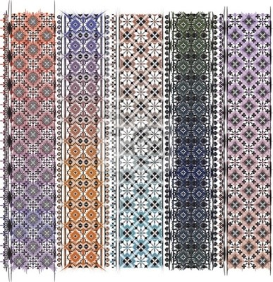 Amerikanischen Textilmuster