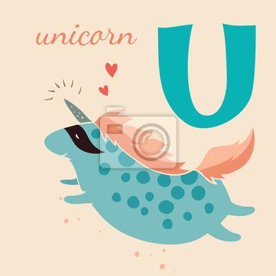 Animal & Animals. U for the unicorn