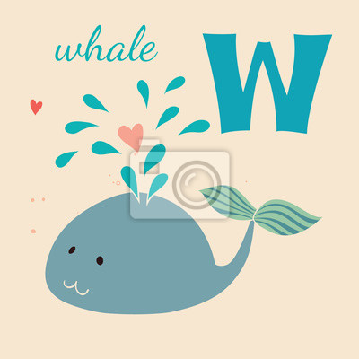 Animal & Animals. W for the whale