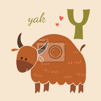 Animal & Animals. Y for the yak