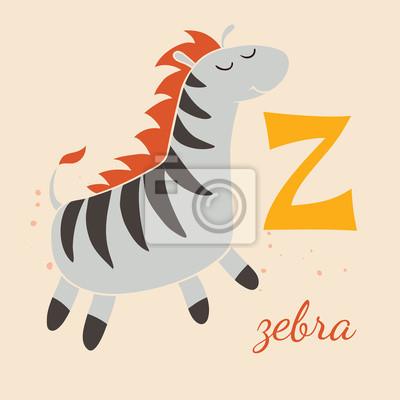 Animal & Tiere. Z für die Zebra