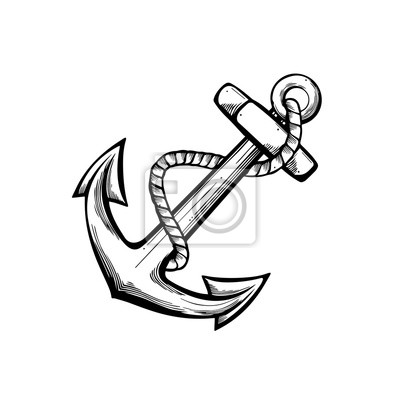 Anker Tattoo Design Fototapete Fototapeten Kapit 228 N