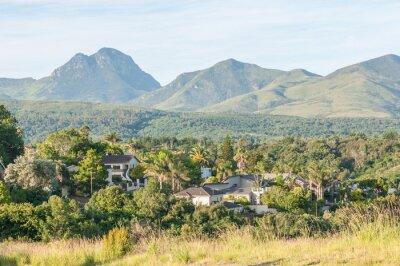 Fototapete Ansicht von George in Südafrika