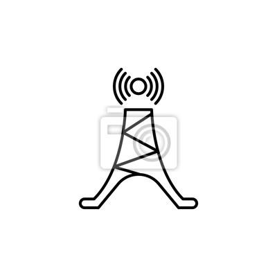 Antennensymbol. element der einfachen ikone für web site, webdesign ...