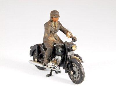 Antikes Motorrad-Spielzeug