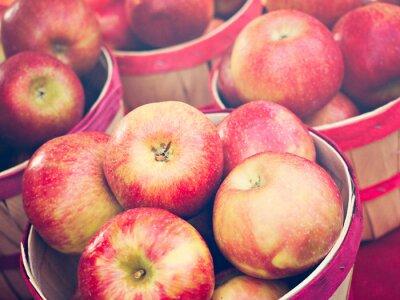 Fototapete Äpfel