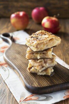 Fototapete Apfelkuchen