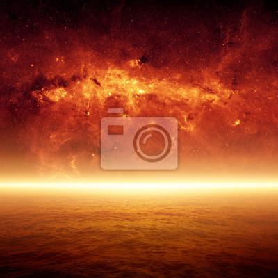 Apokalyptische Hintergrund