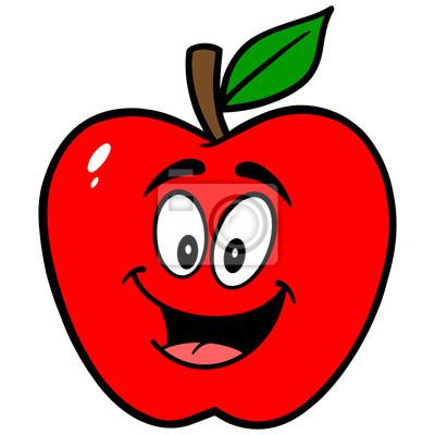 Apple-Maskottchen
