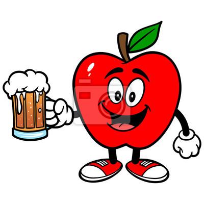 Apple mit Bier