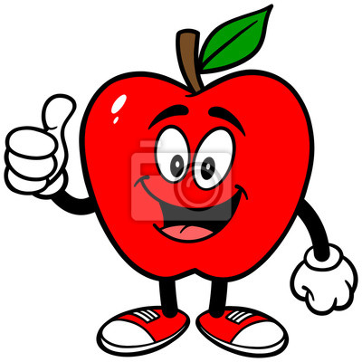 Apple mit Daumen hoch