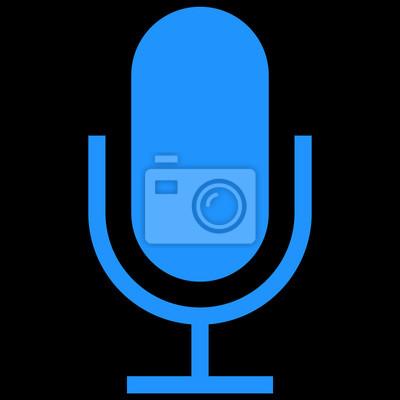 Apple-watchos - mikrofon-symbol fototapete • fototapeten mic ...