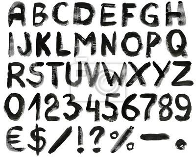 Aquarell-Alphabet