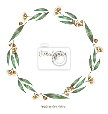 Aquarell, dekorative Elemente