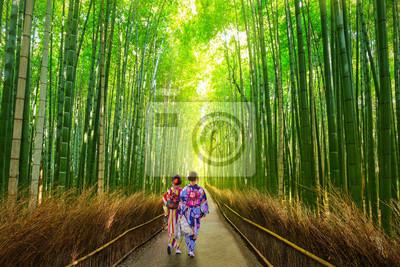 Arashiyama Bambuswald In Kyoto Japan Fototapete Fototapeten Tour