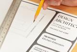 Architekt zeichnung fototapete • fototapeten Firma, Genauigkeit ...