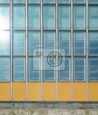 Glasfassade textur  Architektur abstrakten hintergrund. glas vorhang wand textur ...