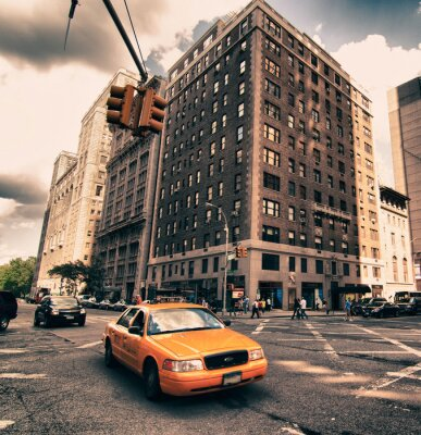 Fototapete Architektur Detail der New York City, USA