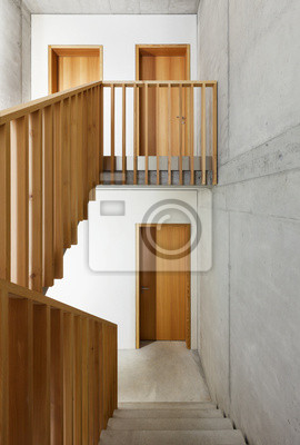 Treppen architektur design  Architektur moderne design, die heimat in beton, treppe fototapete ...