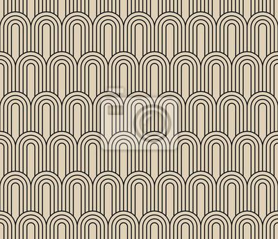 fototapete art deco nahtlose vintage tapete muster - Tapete Muster