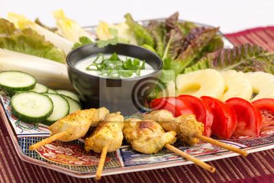 Asiatische Küche asiatische küche fototapete fototapeten mahl endiviensalat