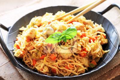 Asiatische Küche asiatische küche bami goreng fototapete fototapeten huhn