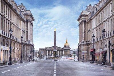 Fototapete Assemblée nationale et Place de la Concorde