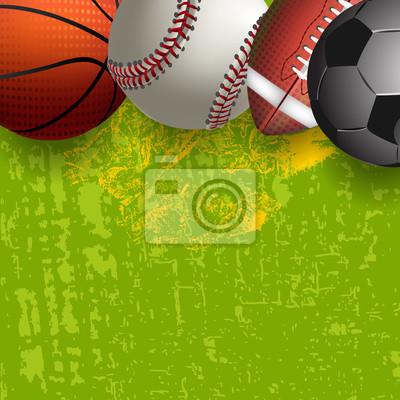 Assorted Sports Balls