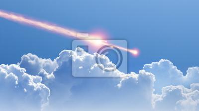 Asteroid, Meteoriteneinschlag