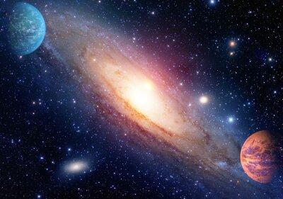 Fototapete Astrologie Astronomie Weltraum Urknall Sonnensystem Planeten Galaxie Schöpfung. Elemente dieses Bildes von der NASA eingerichtet.