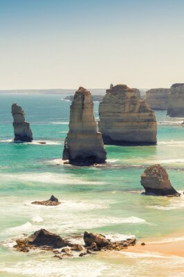Fototapete Atemberaubende Luftaufnahme der Zwölf Apostel, Victoria - Australien