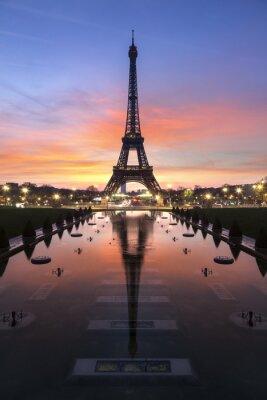 Fototapete Ausflug Eiffel Paris