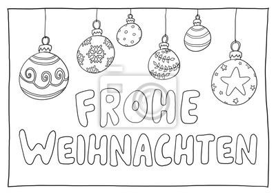 Ausmalbild Weihnachten Fototapete Fototapeten Ferienzeit
