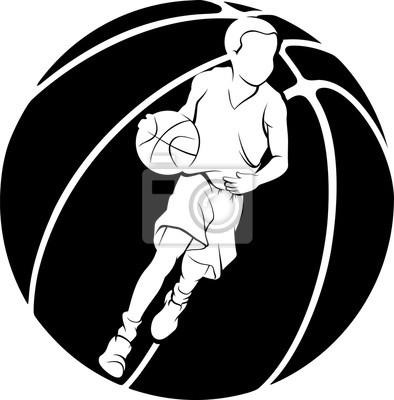 Ausschnitt-Basketball-Junge-dribbeln