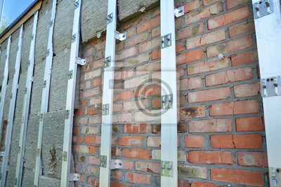 Aussen Haus Isolierung Brick Wall Outdoor Home Isolierung