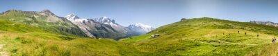 Fototapete Aussichtspunkt Mont Blac