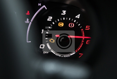 Armaturenbrett  Auto-armaturenbrett fototapete • fototapeten Landfahrzeug ...