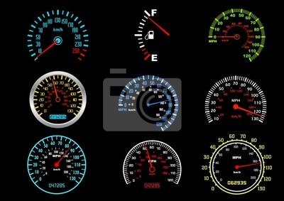 Auto Geschwindigkeitsmesser