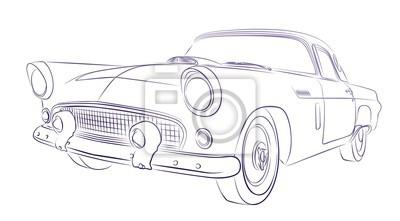 Retro Auto Zeichnen Rubengonzalezclub