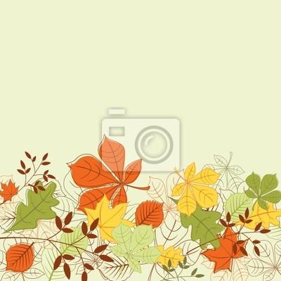 Autumn leaves Hintergrund