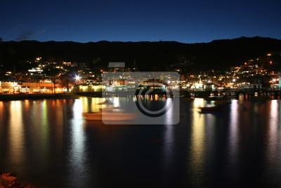 Avalon Bay Catalina bei Nacht