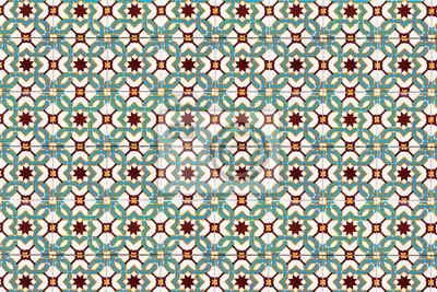 Azulejos mosaique mosaïque carrelage beschaffenheit fototapete ...