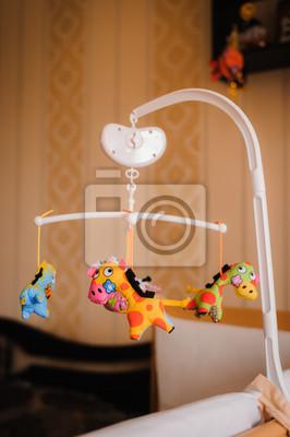 Fototapete Baby Spielzeug Für Neugeborene Im Schlafzimmer
